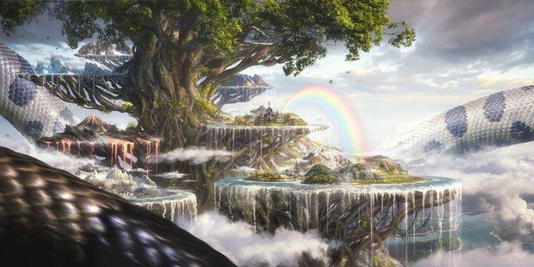 """Yggdrasil"". Roger Dorico, Digital"